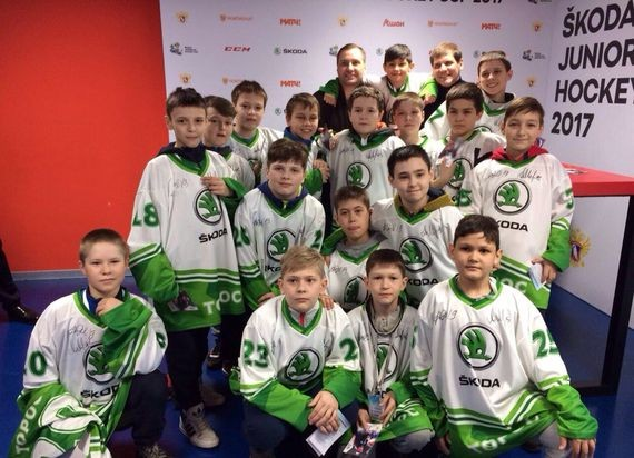 Нефтекамцы выступили на Skoda Junior Ice Hockey Cup 2017